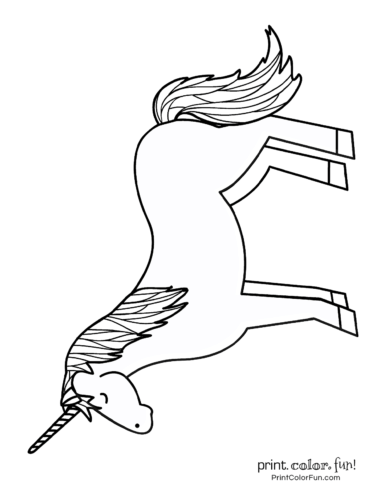 photograph relating to Printable Unicorn Coloring Pages known as Ultimate 100 magical unicorn coloring webpages: The supreme (no cost