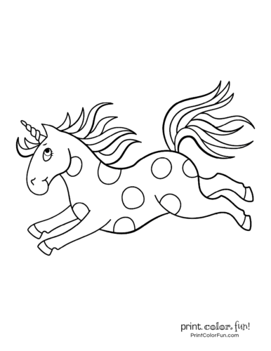 Unicorn coloring pages printable2