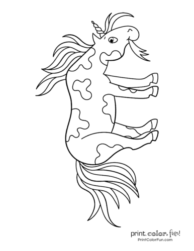 Unicorn coloring pages printable5