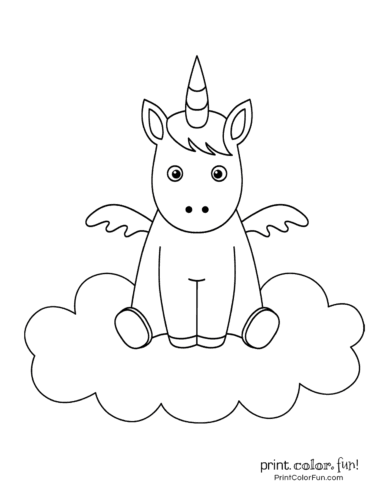 photo about Printable Pictures of Unicorns named Supreme 100 magical unicorn coloring internet pages: The greatest (no cost