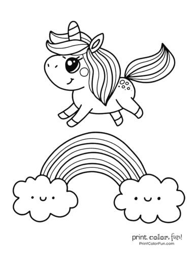 photograph relating to Free Printable Unicorn Coloring Pages identify Final 100 magical unicorn coloring internet pages: The final (totally free