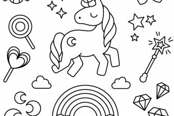 unicorn Archives - Print. Color. Fun! Free printables ...