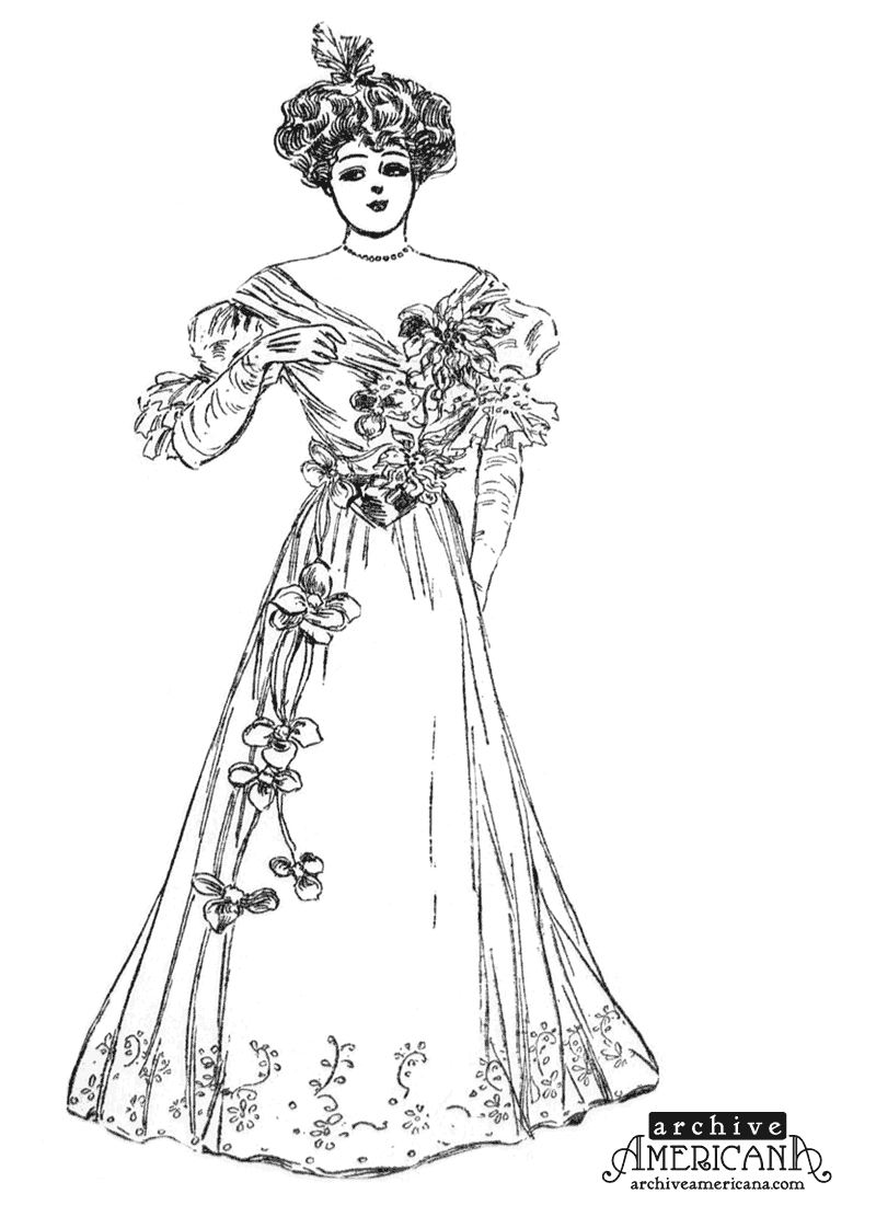 Victoria coloring dresses victorian clothes colouring pages page 2 -  Victorian Era Coloring Pages Photo 35