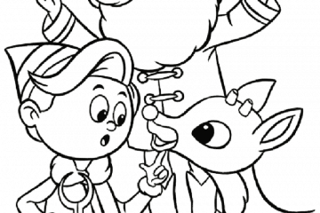 The King of the toys's island coloring page printable game | 240x360