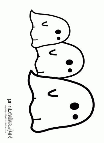 more coloring pages you might like - Ghost Coloring Page