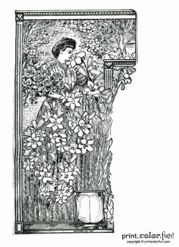 easter flowers 1905
