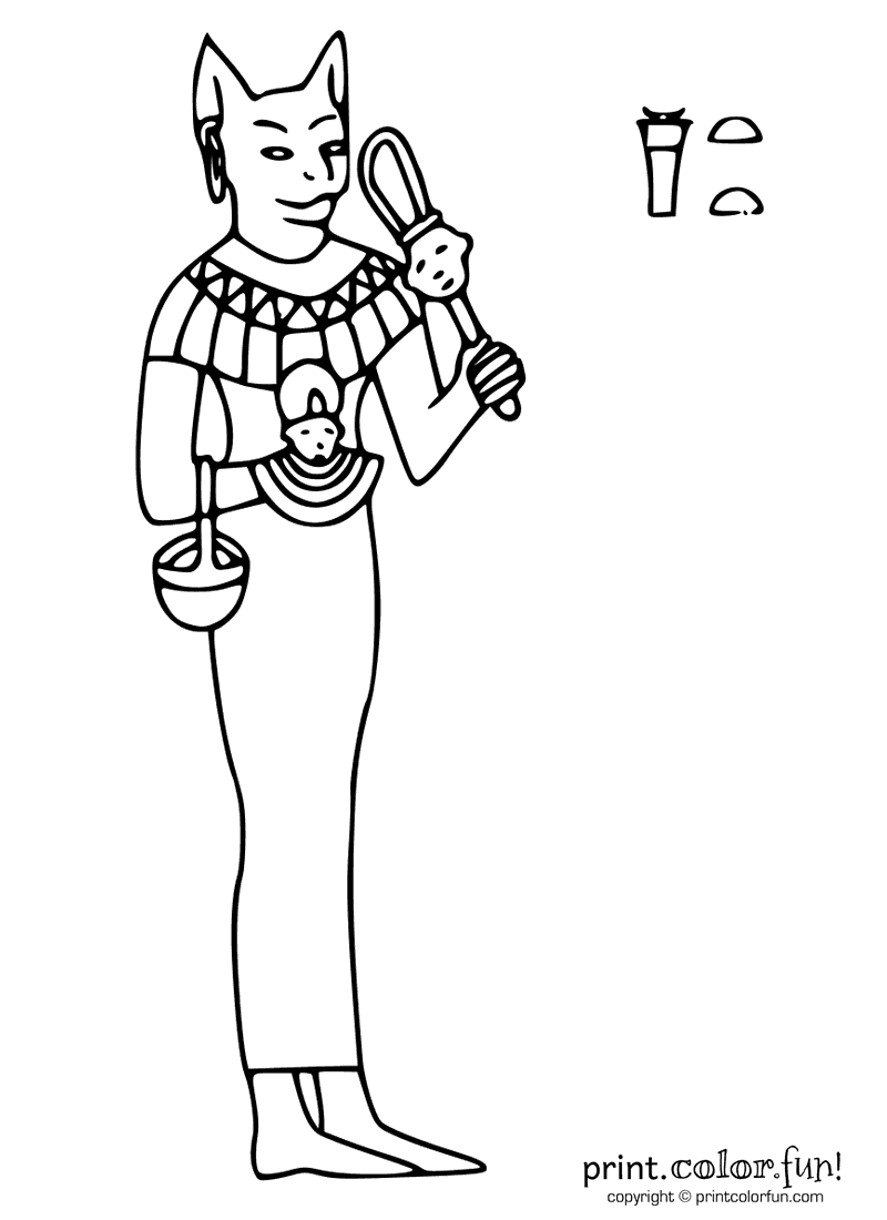 Free coloring pages of ancient