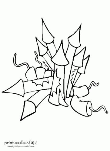 Crackers Coloring Pages Coloring Pages