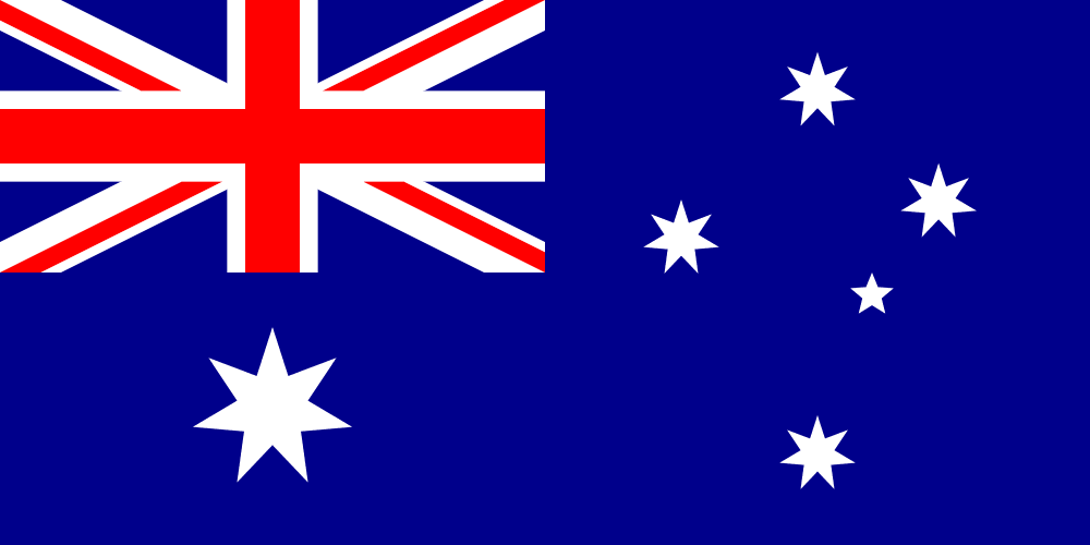 Flag Of Australia Coloring Page Print Color Fun