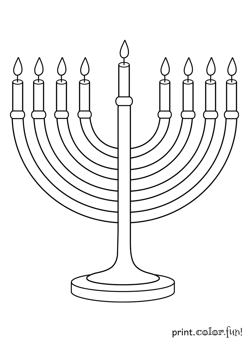 Hanukkah pages to color - Hanukkah Archives Print Color Fun Free Printables Coloring Pages Crafts Puzzles Cards To Print