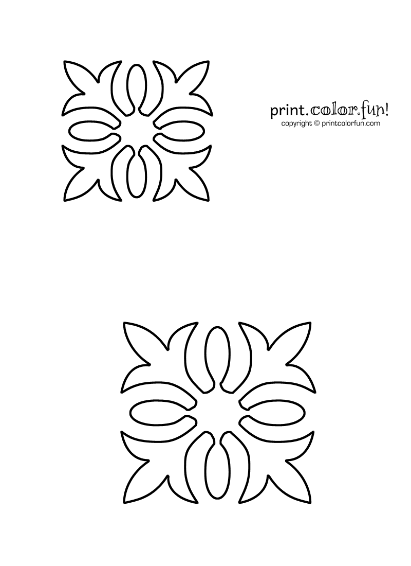 Free Quilting Stencils Download : Download and print your page here!