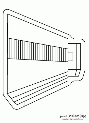 mayan pyramid coloring pages - photo#21