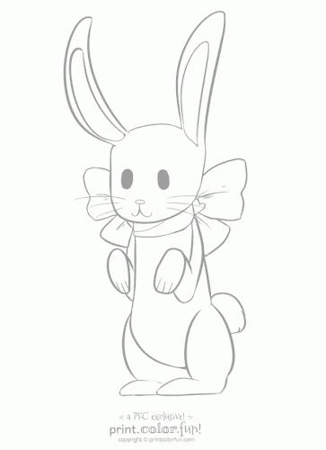 pfc bunny rabbit low ink
