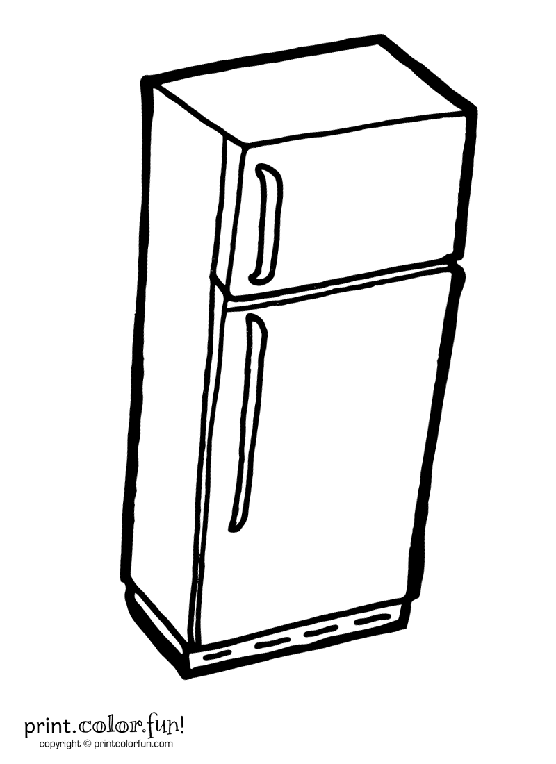 Free Coloring Pages Of Fourth Kitchen