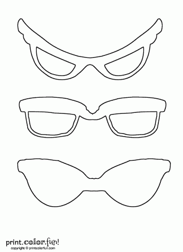 photo about Printable Sunglasses identified as Sungles coloring site - Print. Colour. Pleasurable!
