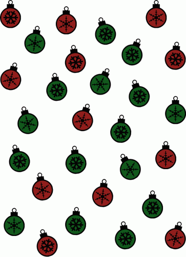 Christmas wrapping paper: Colored