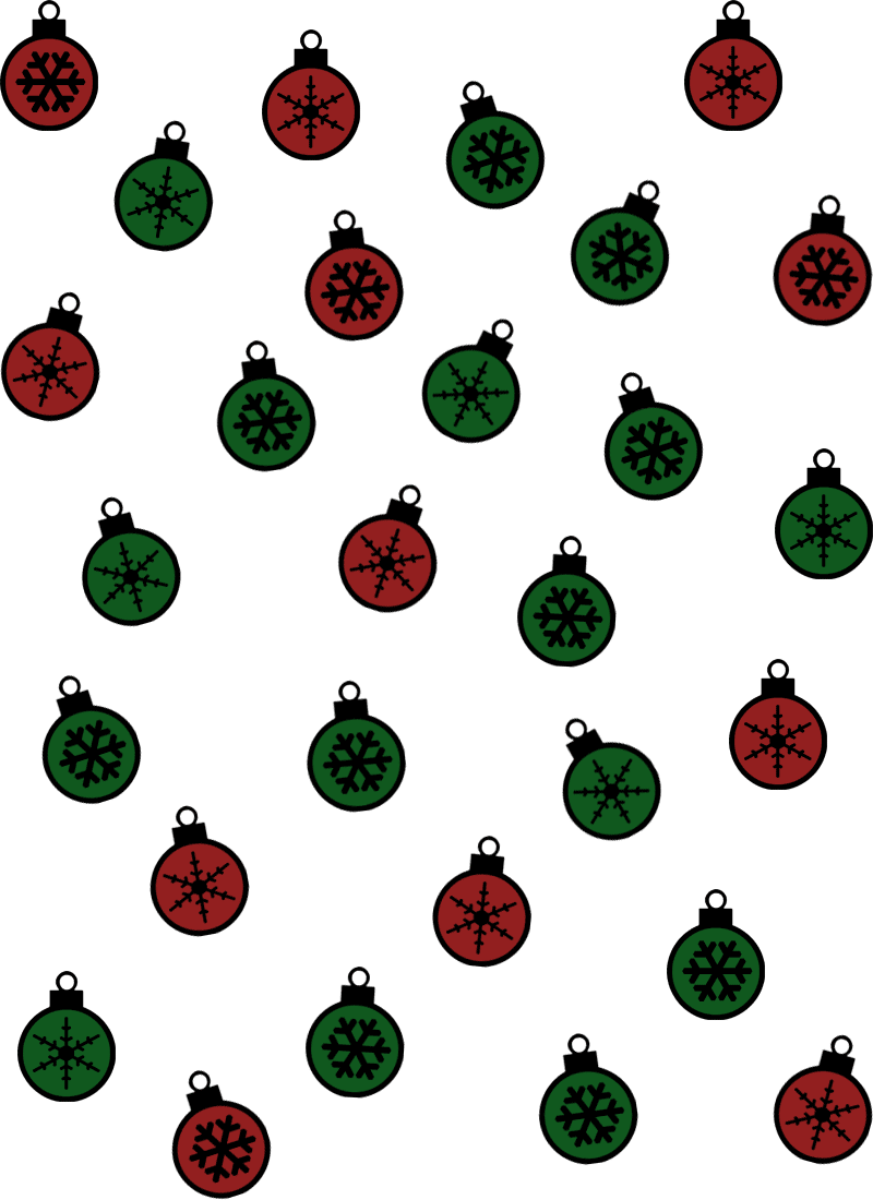 christmas wrapping paper colored coloring page print